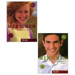 کتاب menschen A1 اثر Christoph Wortberg نشر ابداع 2 جلدی