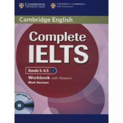 کتاب زبان Complete IELTS 5-6.5 WorkBook اثر Mark Harrison نشر ابداع