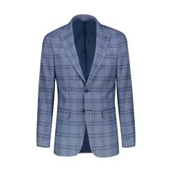 کت تک مردانه ایکات مدلJA1151878 رنگ سرمه ای