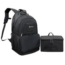 کوله پشتی گوگانا کد  professional fitness 900901 به همراه کیف لوازم شخصی