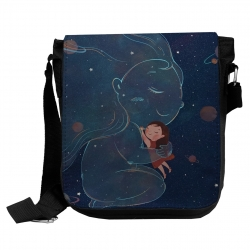 کیف دوشی بچگانه مدل ماه کد kd149