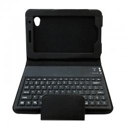 کیف کلاسوری کیبورد دار مدل KEG-11 مناسب برای تبلت سامسونگ Galaxy Tab 2 7.0 P3100