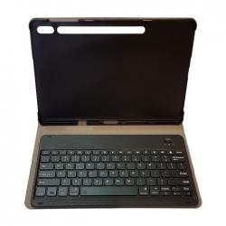 کیف کلاسوری کیبورد دار مدل St-7P مناسب برای تبلت سامسونگ Galaxy Tab S7 Plus