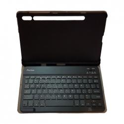 کیف کلاسوری کیبورد دار مدل St-7 مناسب برای تبلت سامسونگ Galaxy Tab S7