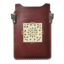 کیف موبایل چرمی مدل PL 008