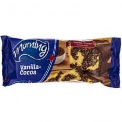 کیک وانیلی کاکائویی مورنینگ – 100 گرم بسته 12 عددی