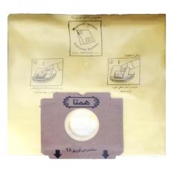 کیسه جاروبرقی مدل H_A 130 بسته 5 عددی مناسب برای جاروبرقی آاگ توربو 28                      غیر اصل