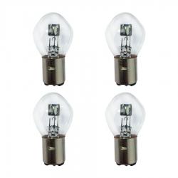 لامپ چراغ جلو موتورسیکلت پازل  مدل B35 کد BLB4150510 مجموعه 4 عددی