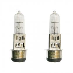 لامپ چراغ جلو موتورسیکلت پازل مدل BA20D کد BLB418079W مناسب برای باکسر مجموعه 2 عددی