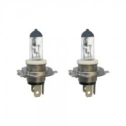 لامپ چراغ جلو موتورسیکلت پازل مدل H4P43T کد BLB428075W مناسب برای پالس 180cc مجموعه 2 عددی