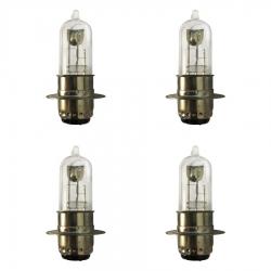 لامپ چراغ جلو موتورسیکلت پازل مدل HS مناسب برای هندا مجموعه 4 عددی