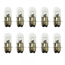لامپ چراغ جلو موتورسیکلت پازل  مدل T19 کد BLB1225530 مناسب برای هندا مجموعه 10 عددی