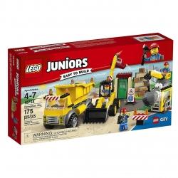 لگو سری Juniors  مدل Demolition Site 10734