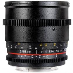 لنز دوربین سامیانگ مدل 85mm T/1.5 As IF UMC VDSLR