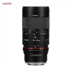 لنز سامیانگ 100mm f/2.8 ED UMC Macro Lens for Sony E