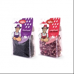 لوبیا عروس و لوبیا سیاه صنایع غذایی سالیان – 450 گرم مجموعه 2 عددی