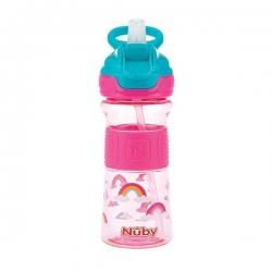 لیوان نی دار کودک نوبی کد n14789 ظرفیت 360 میلی لیتر