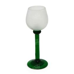 لیوان شیشه گری فوتی آرانیک سادهسبز مدل 1017100004