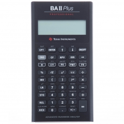 ماشین حساب تگزاس اینسترومنتس مدل BA II PLUS Professional