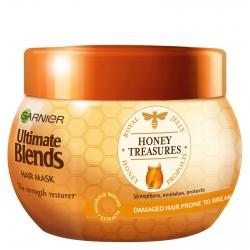ماسک مو گارنیه سری Ultimate Blends مدل Honey Treasures حجم 300 میلی لیتر