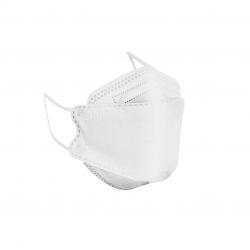 ماسک تنفسی باران مدل پنج لایه سه بعدی KF94-W5 بسته 25 عددی