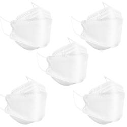 ماسک تنفسی باران مدل پنج لایه سه بعدی KF94-W5 بسته 5 عددی