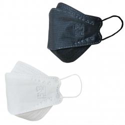 ماسک تنفسی بهسا مدل سه بعدی 3D-BSA-24-BcWw بسته 24 عددی