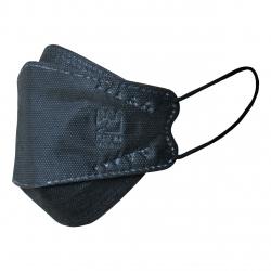 ماسک تنفسی بهسا مدل سه بعدی 3D-BSA-24-Blc بسته 24 عددی