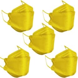 ماسک تنفسی مدل چهار لایه سه بعدی kf94-y4 بسته 5 عددی