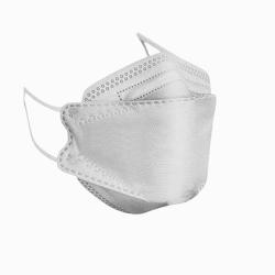 ماسک تنفسی مدل سه بعدی چهار لایه KF94-G4 بسته 5 عددی