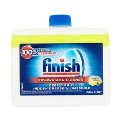 مایع جرم گیر ماشین ظرفشویی فینیش  مدل Dishwasher Cleaner حجم 250 میلی لیتر