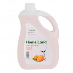 مایع ظرفشویی هوم لند مدل orange حجم 3.5 لیتر