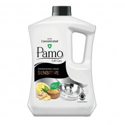 مایع ظرفشویی پامو مدل Lemon and Ginger حجم 3.4 لیتر