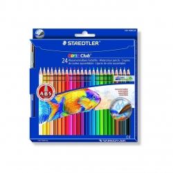 مداد آبرنگی استدلر نوریس کلاب 24 رنگ کد  10NC24 144
