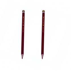 مداد قرمز سوسمار کد 12 بسته 2 عددی
