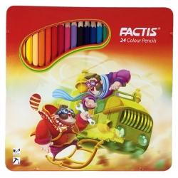 مداد رنگی 24 رنگ فکتیس مدل دو مخترع کد F07112024