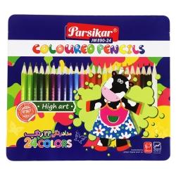 مداد رنگی 24 رنگ پارسی کار مدل JM890-24