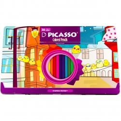مداد رنگی 36 رنگ پیکاسو مدل Superb Writer طرح جوجه ها
