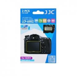 محافظ صفحه نمایش دوربین جی جی سی مدل LCP-A99II مناسب برای دوربین سونی A99II مجموعه 4 عددی