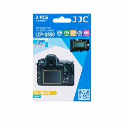 محافظ صفحه نمایش دوربین جی جی سی مدل LCP-D850 مناسب برای دوربین نیکون D850 مجموعه 4 عددی