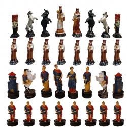 مهره شطرنج مدل هخامنشی کد 4 مجموعه 32 عددی
