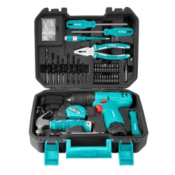 مجموعه 81 عددی ابزار توتال مدل TDLI12415