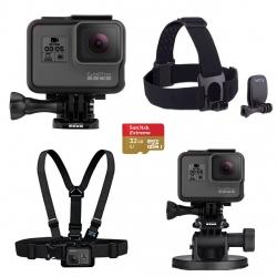 مجموعه دوربین فیلم برداری ورزشی گوپرو مدل HERO5 Black پکیج 1