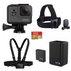 مجموعه دوربین فیلم برداری ورزشی گوپرو مدل HERO5 Black پکیج 3