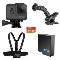 مجموعه دوربین فیلم برداری ورزشی گوپرو مدل HERO5 Black پکیج 4