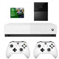 مجموعه کنسول بازی مایکروسافت مدل Xbox One S All Digital ظرفیت 1 ترابایت به همراه 100 عدد بازی