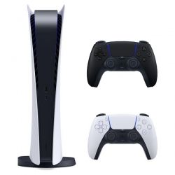 مجموعه کنسول بازی سونی مدل PlayStation 5 Digital Edition ظرفیت 825 گیگابایت به همراه دسته اضافه
