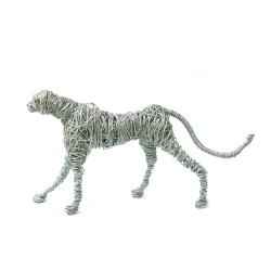مجسمه سیمی آرانیک مدل یوزپلنگ