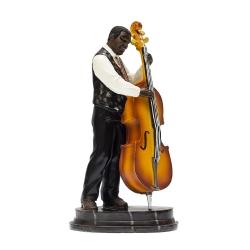 مجسمه طرحمرد نوازنده ویولن سل مدل CE10