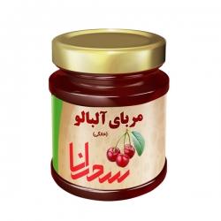مربای آلبالو خانگی سحرانا – 900 گرم